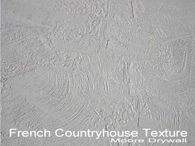 Trowel Spanish Or French Country House Moore Drywall